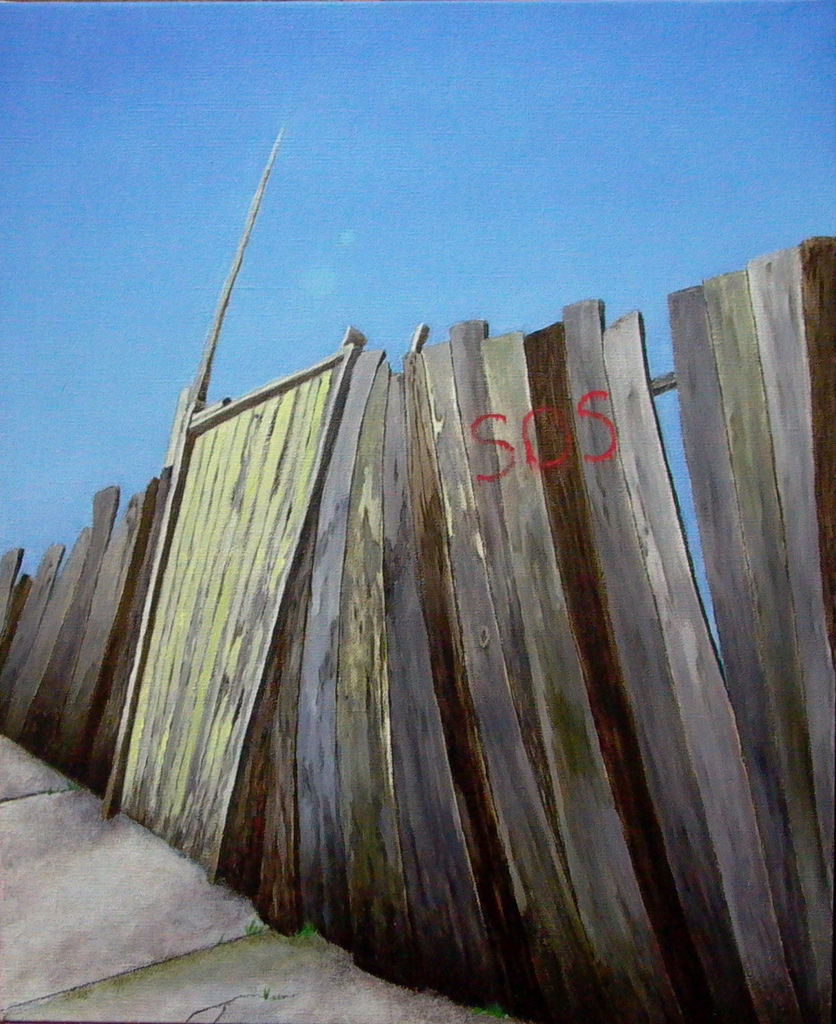 Study to The Red Fence
